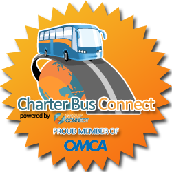 Powered by Charter Bus Connect - Proud Member of OMCA